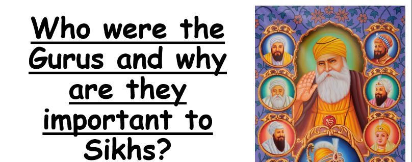 Comparison of Sikh Gurus lesson, presentation and accompanying differentiated resources