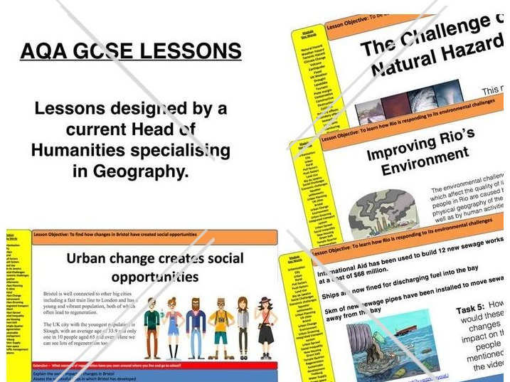 AQA GCSE Geography - Whole Changing Economic World Unit - Full SoW (30 Lessons)