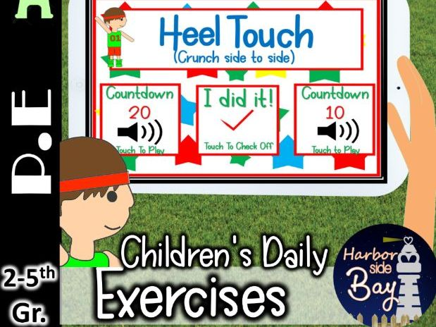 P.E Physical Excercise for Elementary school Students