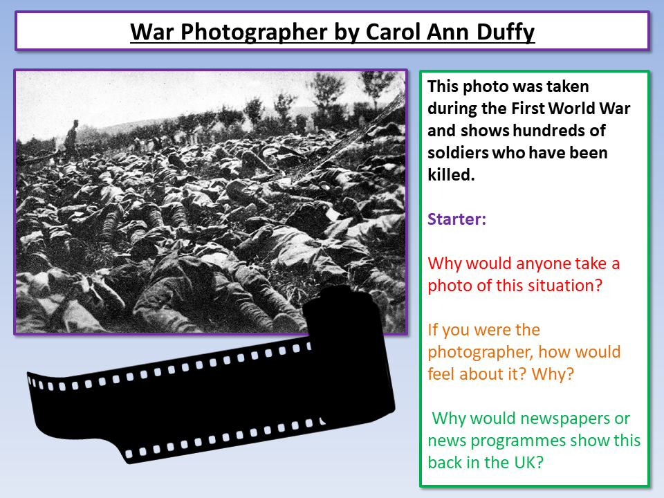 War Photographer Power and Conflict