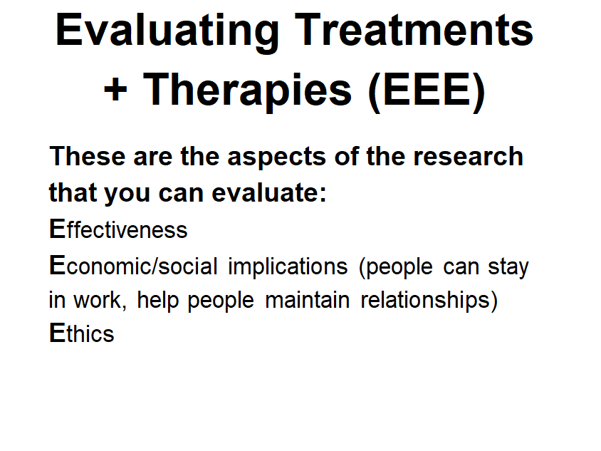 WJEC A LEVEL PSYCHOLOGY Therapy + Treatment Evaluation NOTES