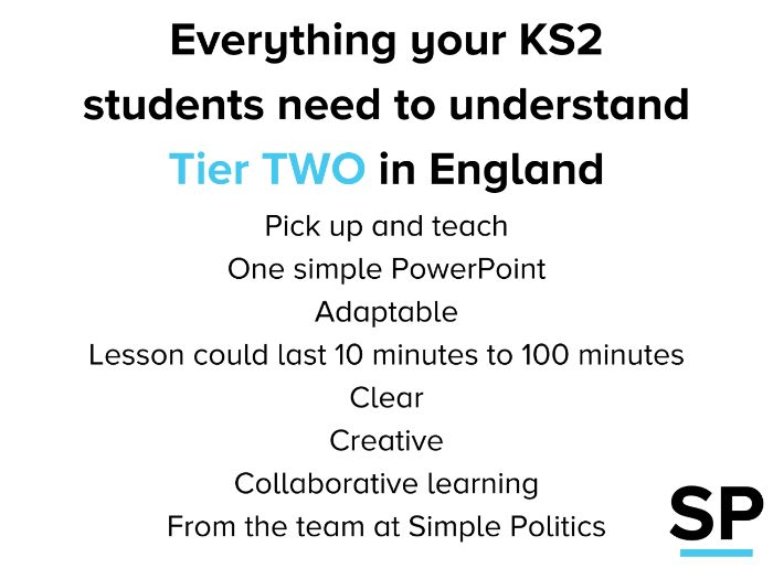 Tier Two restrictions for KS2