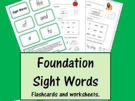 Sight Words 1-5