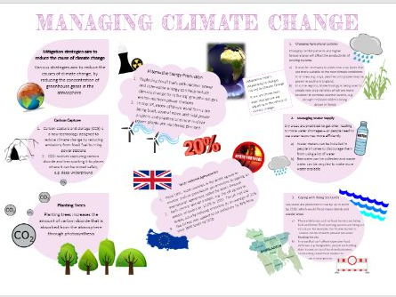 GCSE Geography: Managing Climate Change