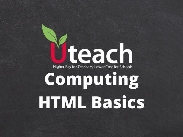 KS3 Computing HTML Basics