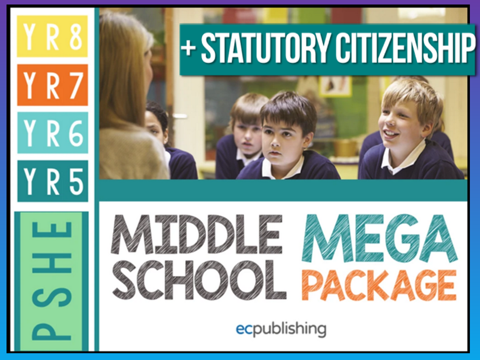 Complete Middle School PSHE with statutory Citizenship