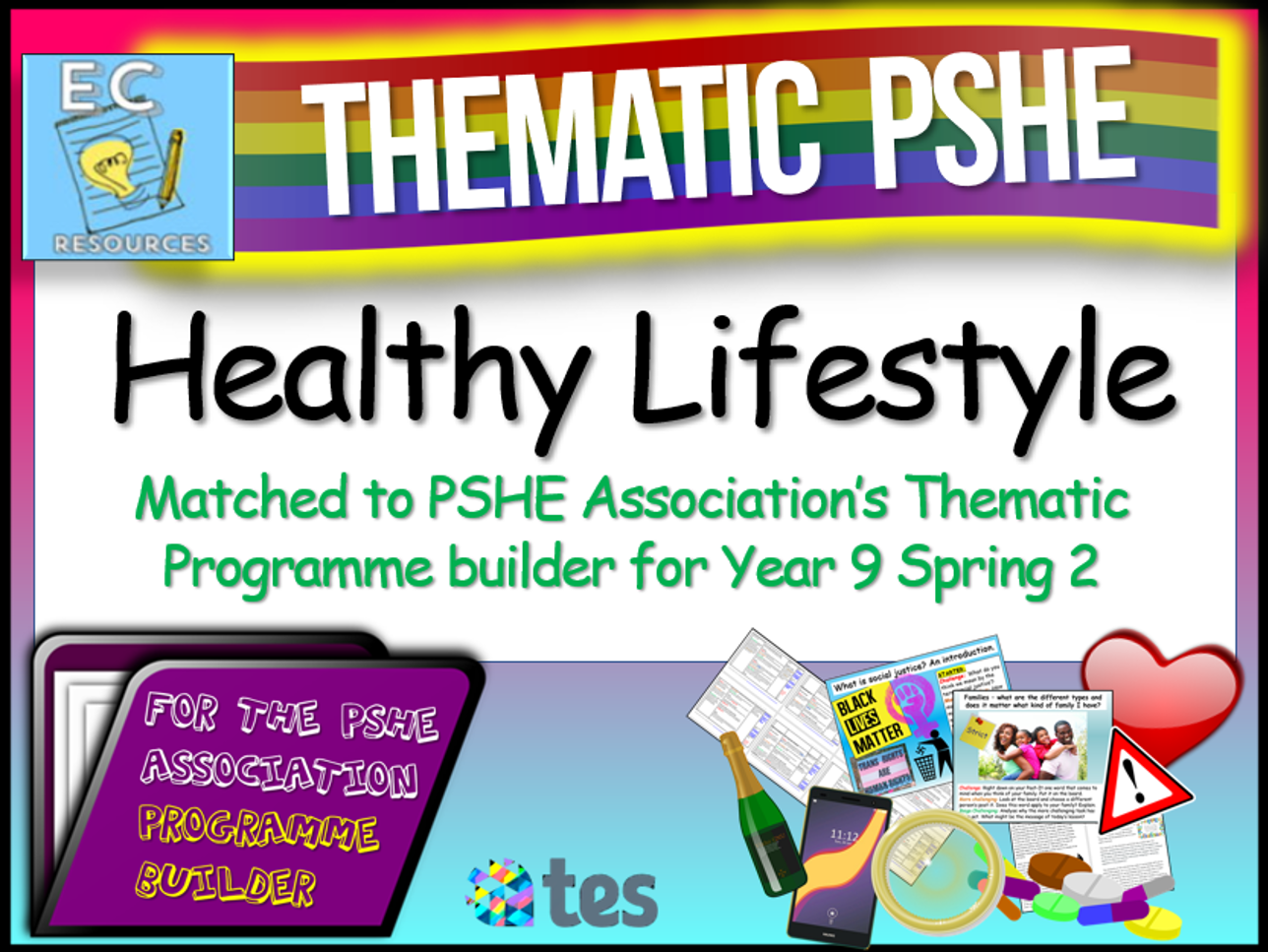 Healthy Lifestyle Thematic PSHE