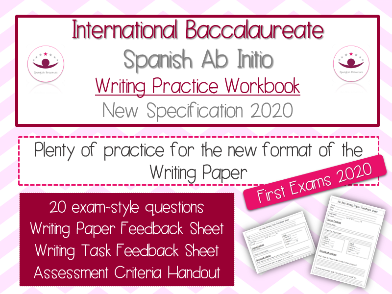 Spanish Ab Initio - Writing Practice Workbook - New Specification 2020