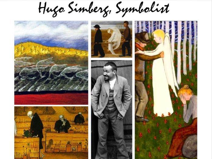 Hugo Simberg Finland Symbolism Art History Painting - 185 Slides