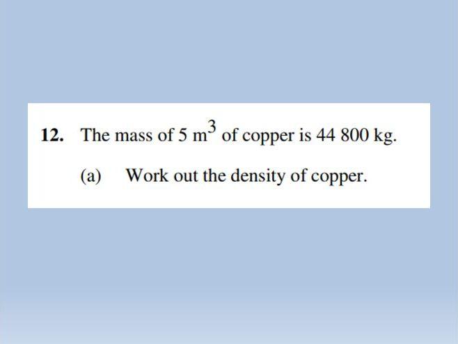 Pressure - Compound Measures