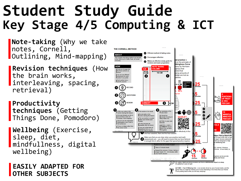 Student study / revision guide