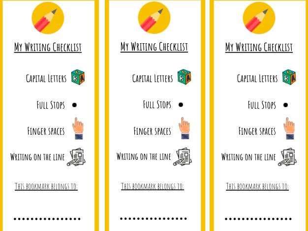 Writing Expectation Bookmarks