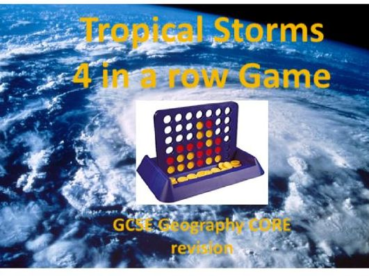 Tropical Storms 4 in a Row