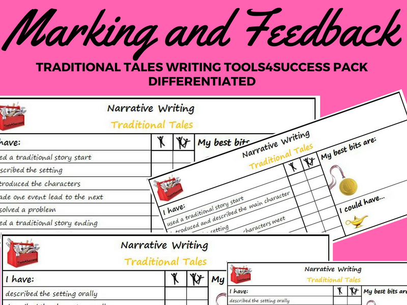 traditional tales tools for success criteria  u0026 self  peer