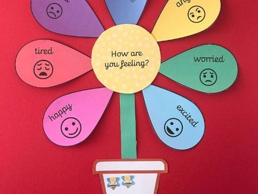 Interactive Feelings Flower
