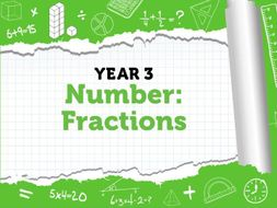Fractions: Year 3 Spring Term - White Rose Maths