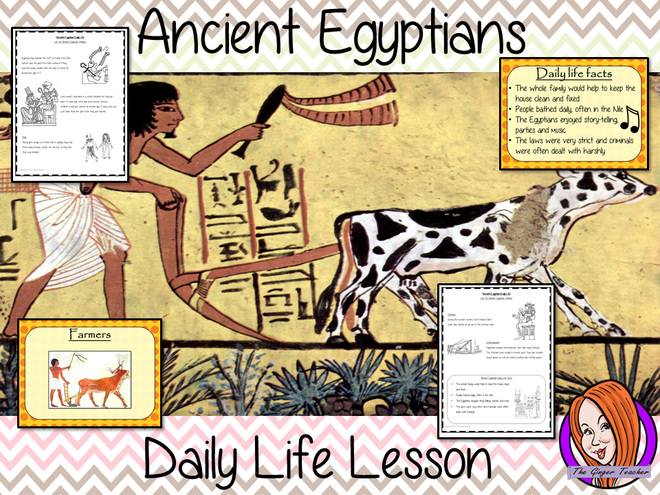 Ancient Egyptian Daily Life - Complete History Lesson