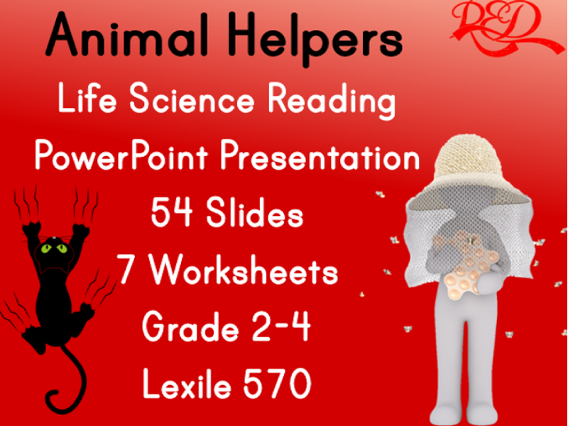 Animal Helpers Presentation,FREE PREVIEW