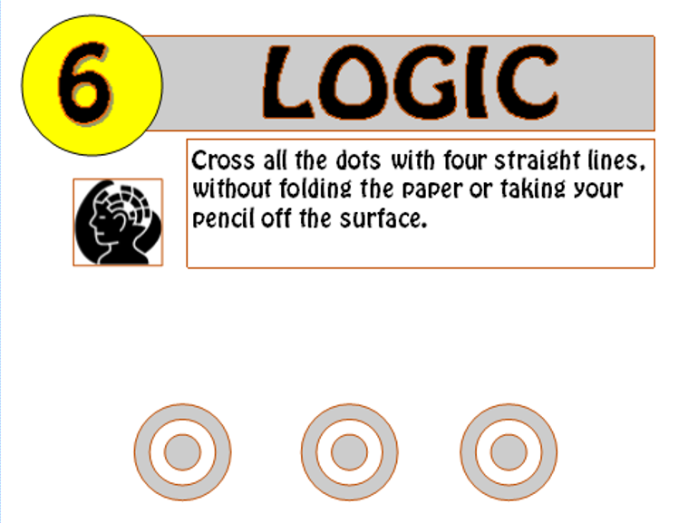 Logic Puzzle 6 (with solution)