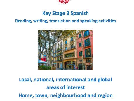 Key Stage 3 Spanish - Where I live - New GCSE-style activities