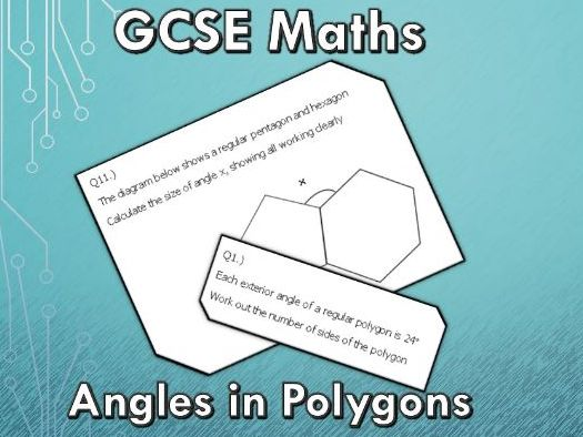 GCSE Maths 9-1 Angles in Polygons