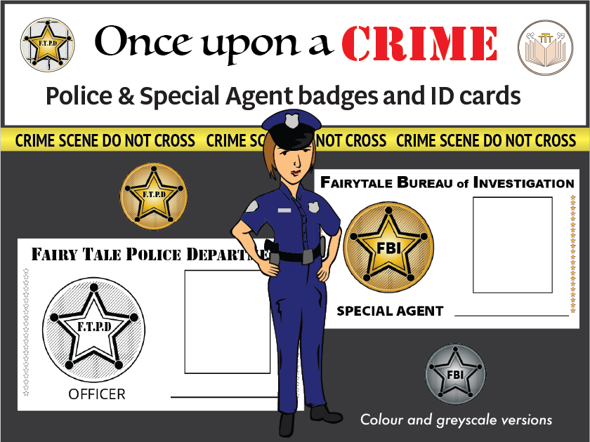Police and Special Agent badges & ID cards