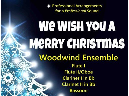 We Wish You A Merry Christmas (Woodwind Ensemble)