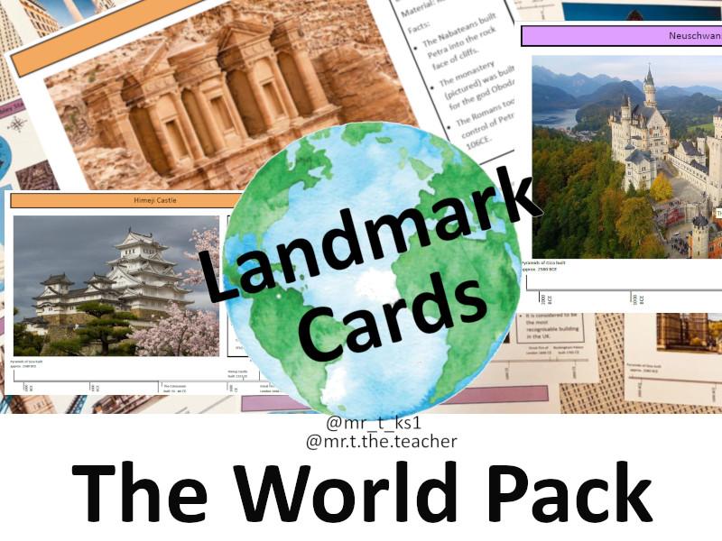 Landmark Cards: The World Pack