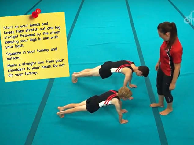 Gymnastics Tutorial Videos