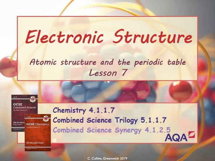 Electronic structure #7 (AQA - Chemistry paper 1)