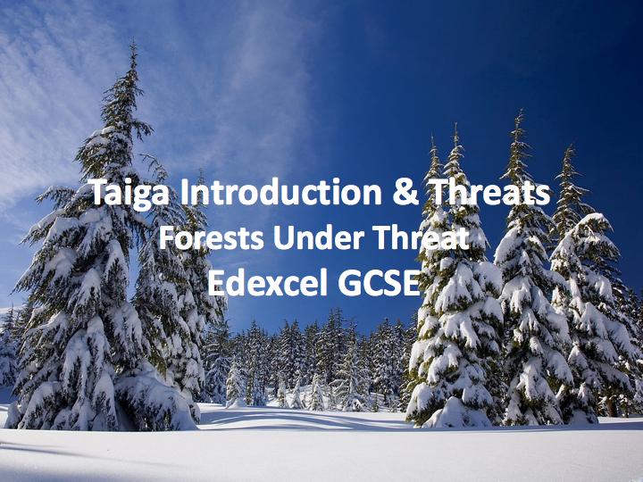 Taiga Introduction & Threats