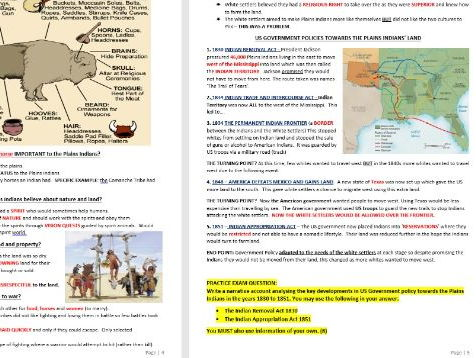 Edexcel GCSE HISTORY American West 2016 REVISION GUIDE