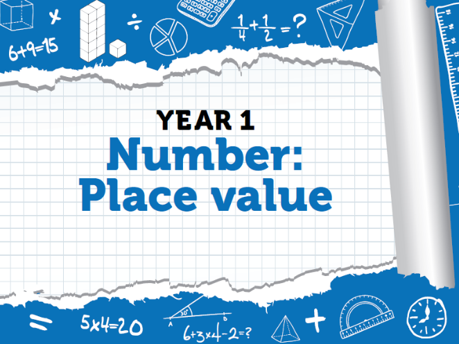 Year 1 - Number - Place Value Within 100 -  Week 2 - Summer - Block 1 - White Rose