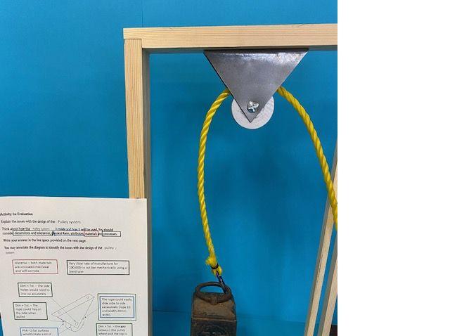 BTEC Engineering Tech Award (Mock – Pulley)