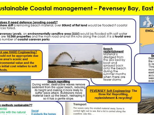 Rivers and Coasts case study cards