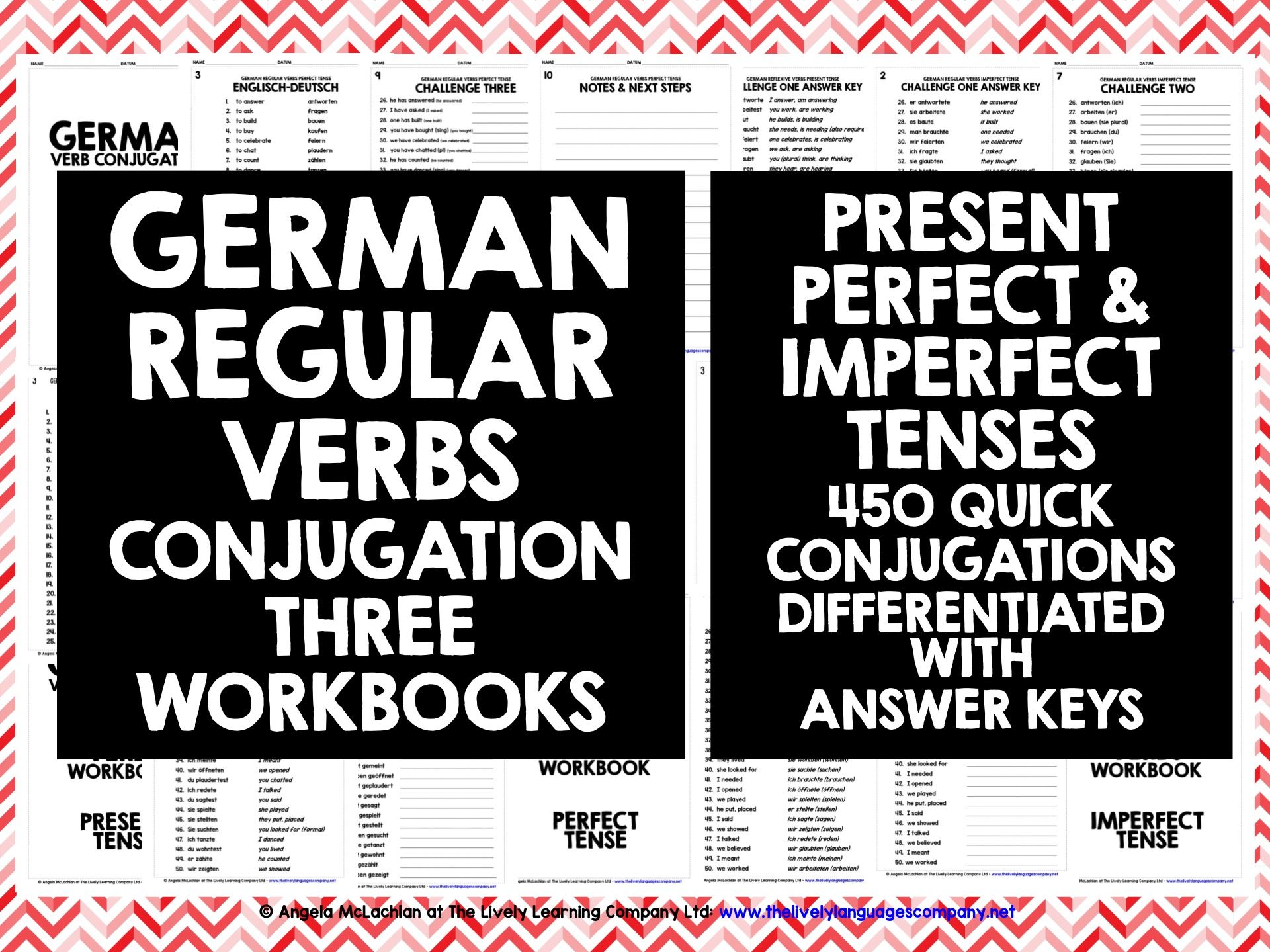 GERMAN REGULAR VERBS
