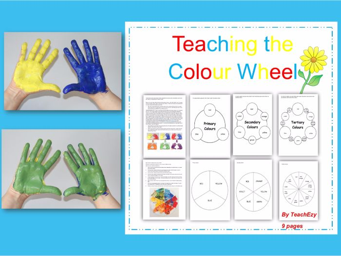 Teaching the Colour Wheel