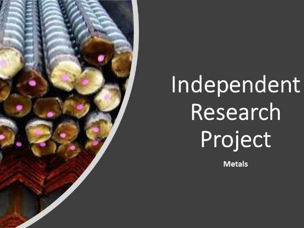 Independent Research Project - metals - Differentiation Tool