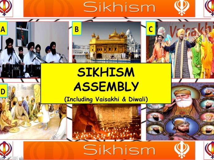 2017 Sikhism Assembly  (Including Vaisakhi & Diwali)  20-30 Minutes or Tutor form time.