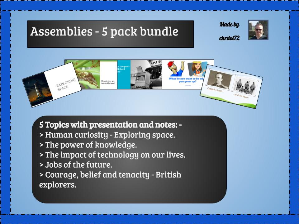Assembly bundle (iii) (5 pack) - Mixed themes
