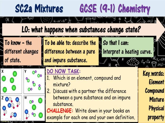 Mixtures GCSE (9-1) Chemistry