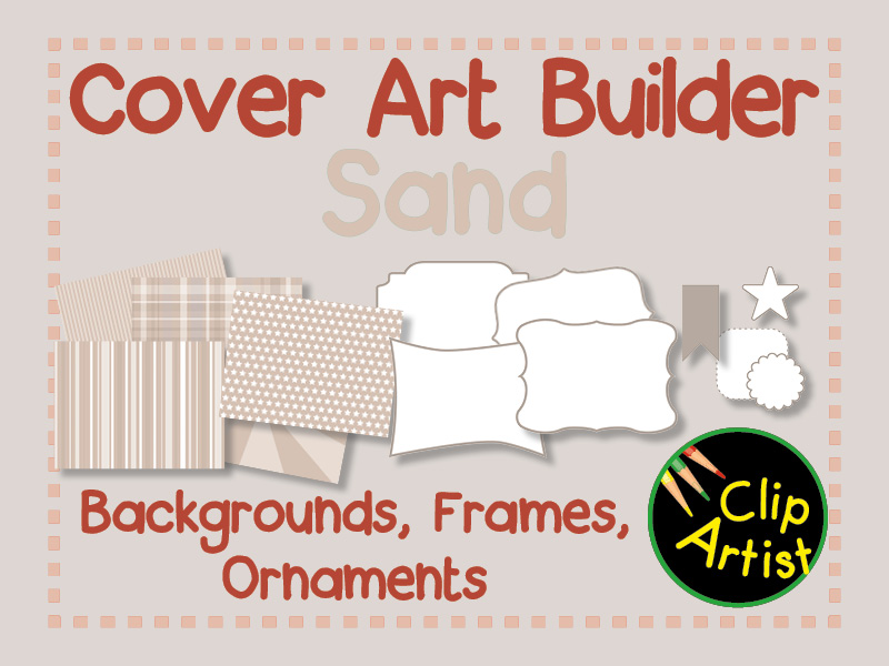 Cover Builder for Authors and Presentations - Sand