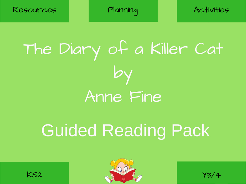 The Diary of a Killer Cat - Guided Reading Resources