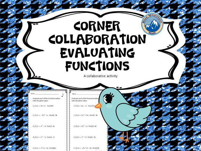 Corner Collaboration--Evaluating Functions