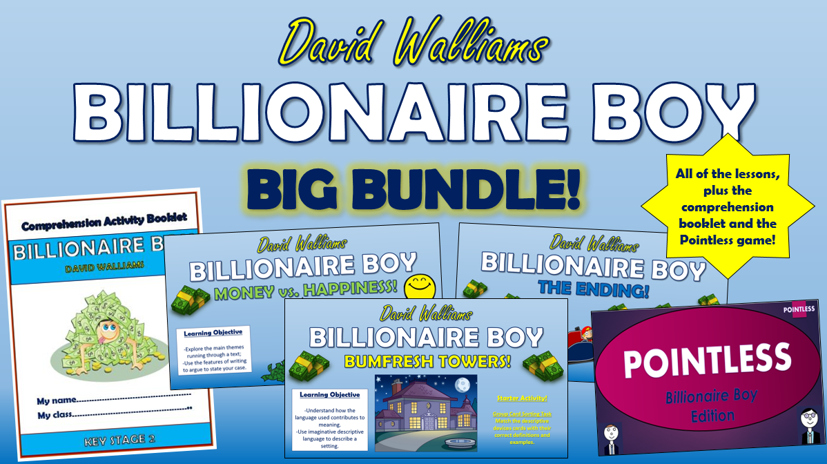Billionaire Boy Big Bundle!