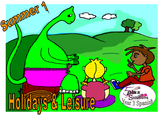 Primary Spanish VOCUABULARY LEARNING MAT: Year 3 Holidays & Leisure