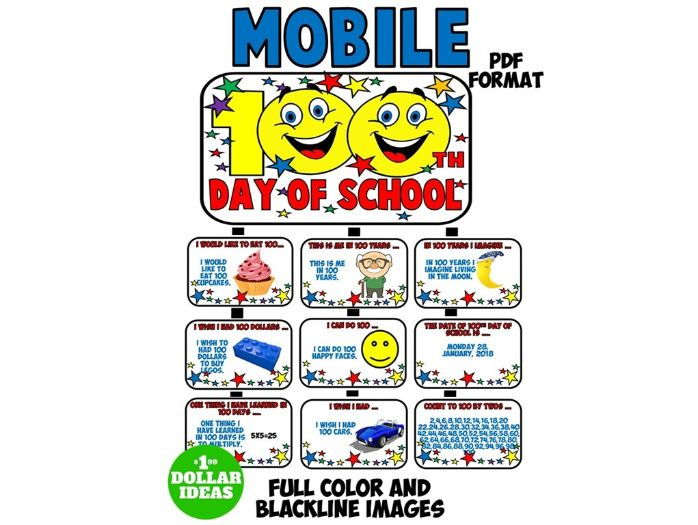 100TH DAY OF SCHOOL ACTIVITIES | MOBILE