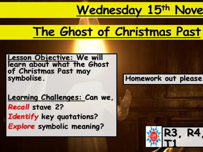 A Christmas Carol Ghost Of Christmas Past By Jessomalley
