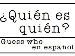 ¿Quién es quién?   Guess Who? en español