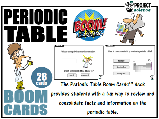 Periodic Table Boom Cards™ - Distance Learning